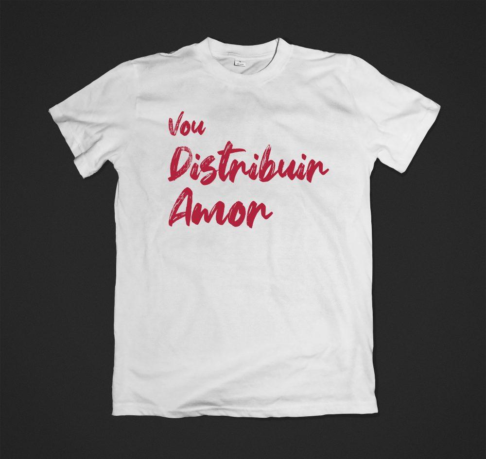 Camisa Distribuir Amor